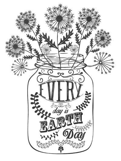 Earth Day-Erin Clark-Giclee Print