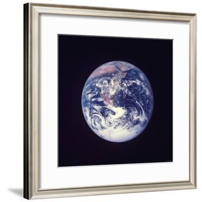 Earth from the Moon--Framed Photographic Print