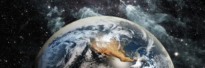 Earth in Space--Photographic Print