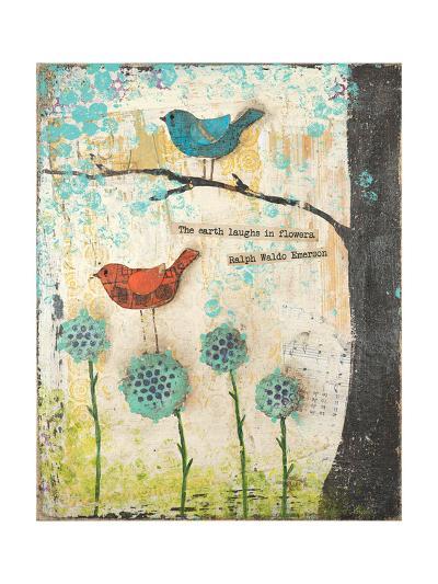 Earth Laughs in Flowers-Cassandra Cushman-Art Print
