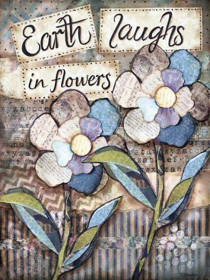 Earth Laughs-Let Your Art Soar-Giclee Print