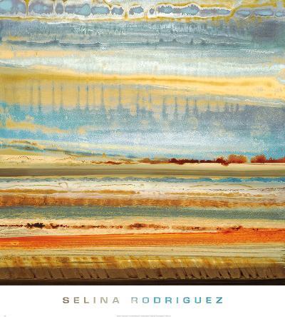 Earth Layers I-Selina Rodriguez-Art Print