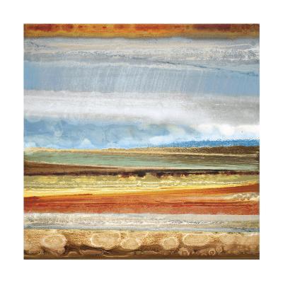 Earth Layers II-Selina Rodriguez-Giclee Print