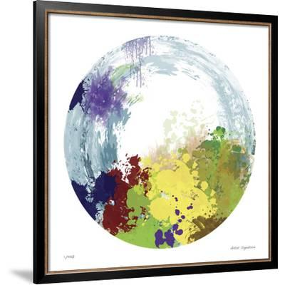 Earth Layers IV-Jan Weiss-Framed Giclee Print