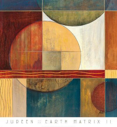 Earth Matrix II-Judeen-Art Print