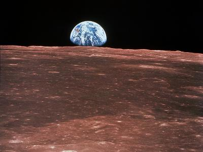 Earth Rising--Photographic Print