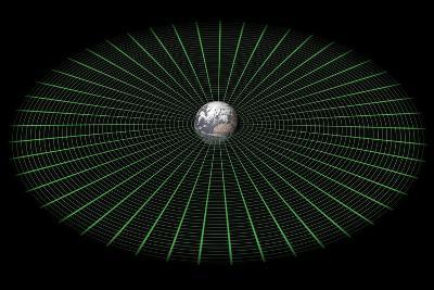 Earth's Gravity Well, Artwork-Mikkel Juul-Photographic Print