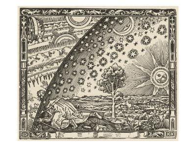 Earth's Junction with the Heavens--Giclee Print