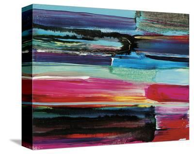 Earth's Rainbow Remembered No. 11-Joan Davis-Stretched Canvas Print