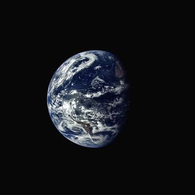 Earth Seen rrom Space--Photographic Print
