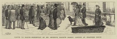 Earth to Earth, Exhibition of Mr Seymour Haden's Basket Coffins at Stafford House--Giclee Print