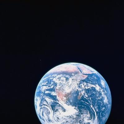 Earth Viewed from Deep Space--Photographic Print