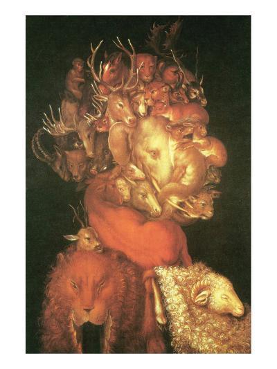 Earth-Giuseppe Arcimboldo-Premium Giclee Print