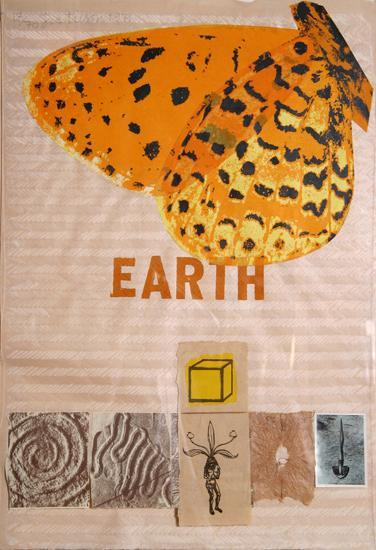 Earth-Joe Tilson-Limited Edition
