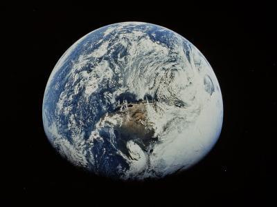Earth-David Bases-Photographic Print
