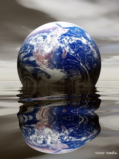 Earth-Victor Habbick-Photographic Print