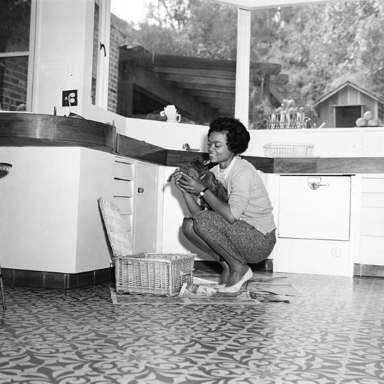 Eartha Kitt - 1959-William Lanier-Photographic Print