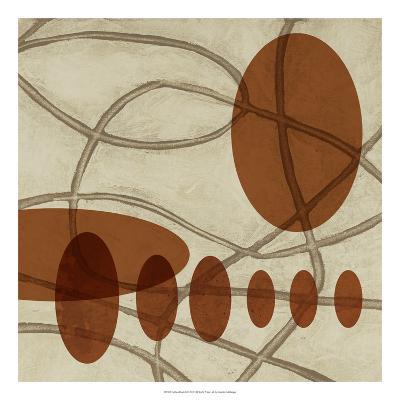 Earthen Ovals II-Jennifer Goldberger-Premium Giclee Print