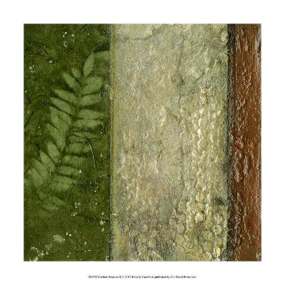 Earthen Textures II-Beverly Crawford-Premium Giclee Print