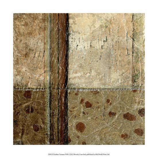 Earthen Textures VIII-Beverly Crawford-Premium Giclee Print