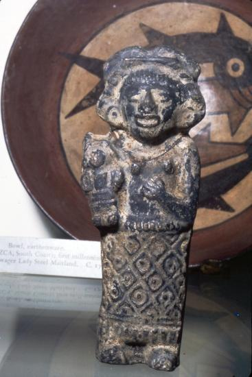 Earthenware Figure, Late Aztec, Mexico, 15th or 16th century-Unknown-Giclee Print