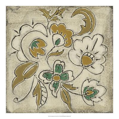 Earthenware Floral III-Chariklia Zarris-Giclee Print