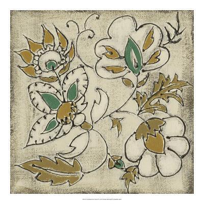 Earthenware Floral IV-Chariklia Zarris-Giclee Print