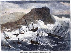Earthquake And Tidal Wav