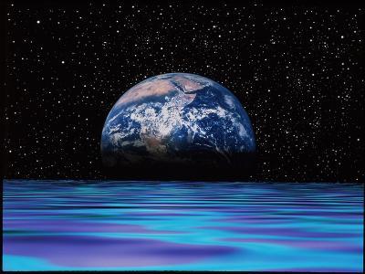 Earthrise-Mehau Kulyk-Photographic Print