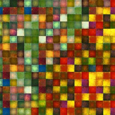 Earthy Geometric Background Image And Design Element-nagib-Art Print