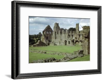 EASBY HALL /& ABBEY YORKSHIRE ENGLAND LANDSCAPE PAINTING ART REAL CANVAS PRINT