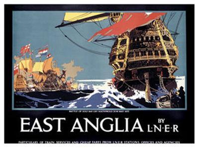 East Anglia by L.N.E.R.-Frank Mason-Giclee Print