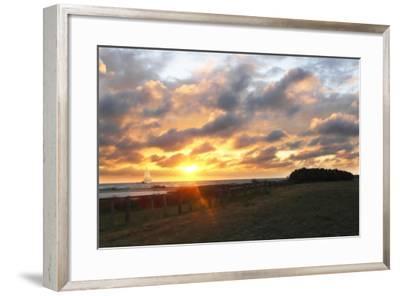 East Bay Sunrise III-Alan Hausenflock-Framed Photographic Print