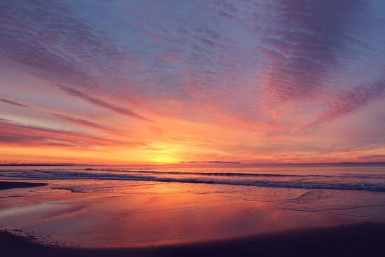 East Beach Sunrise-Zachary Turner Photography-Photographic Print