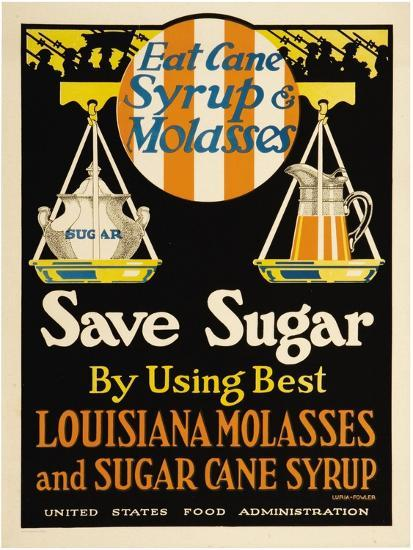 East Cane Syrup & Molasses- Luria-Fowler-Art Print