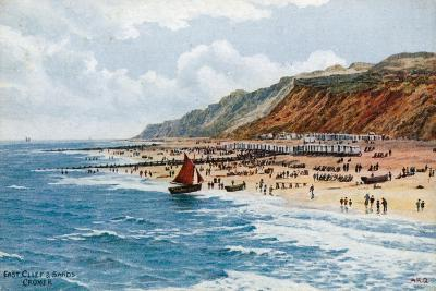 East Cliff and Sands, Cromer-Alfred Robert Quinton-Giclee Print
