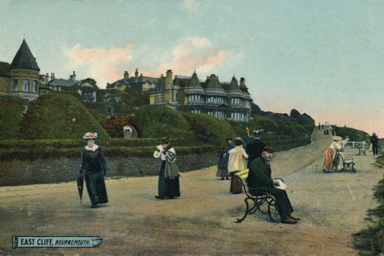 East Cliff, Bournemouth, c1905-Unknown-Photographic Print