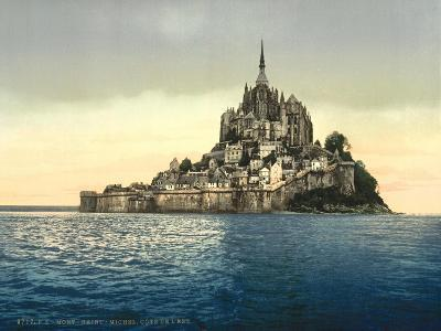 East Coast at High Water, Le Mont St. Michel, France--Giclee Print