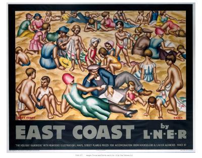 East Coast by LNER--Art Print