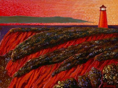 East Coast Dawn-John Newcomb-Giclee Print