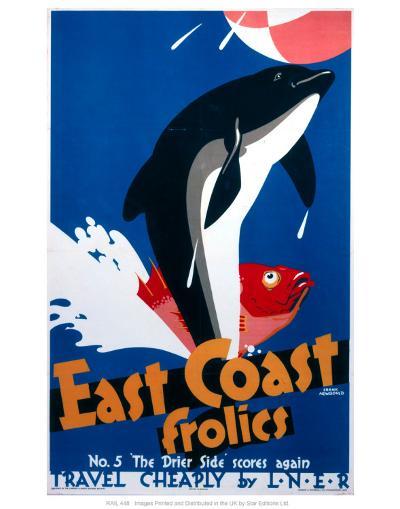 East Coast Frolics--Art Print