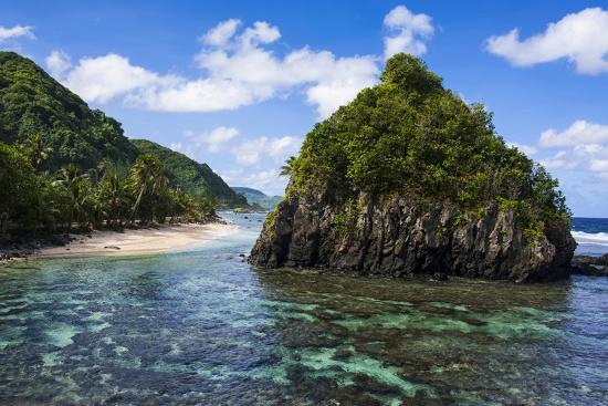 East Coast of Tutuila Island, American Samoa, South Pacific-Michael Runkel-Photographic Print