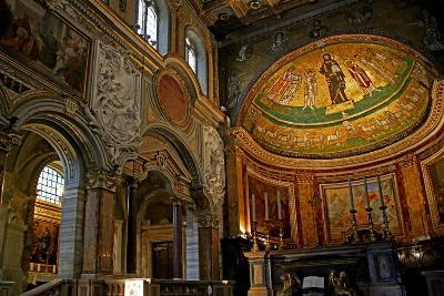 East End of the Nave and Apse with Christ, Saints and Pope Gregory Iv--Giclee Print