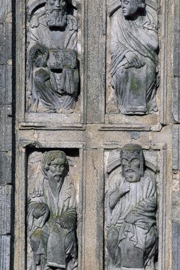 East Facade Cathedral of Santiago De Compostela, Santiago De Compostela--Photographic Print