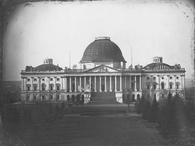 East Face of U. S. Capitol in 1846-John Plumbe Jr.-Photographic Print