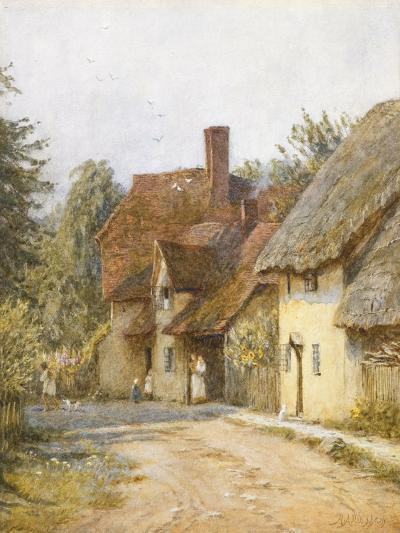East Hagbourne, Berkshire-Helen Allingham-Giclee Print