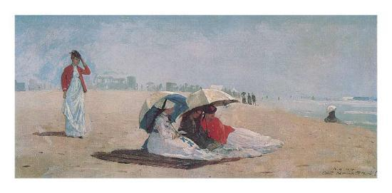 East Hampton, Long Island, 1874-Winslow Homer-Art Print