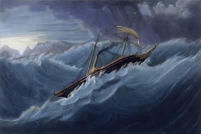 East India Company Iron War Steamer, the Ship Nemesis-W.J. Leathem-Giclee Print