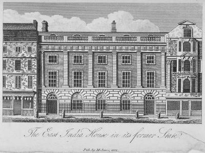 East India House, Leadenhall Street, City of London, 1800--Giclee Print