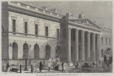 East India House, Leadenhall-Street--Giclee Print